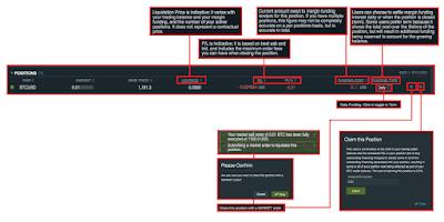Bitfinex - Trading Platform Dashboard Explained - Position Management