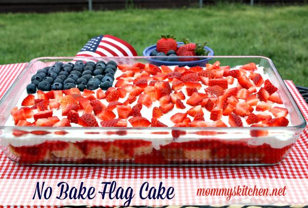 Patriotic Flag Cake Recipes