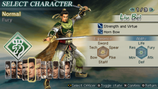 Download Dynasty Warriors Strikeforce for Android PPSSPP/PSP ISO High Compress Full Version Terbaru 2017
