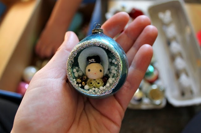 1940s christmas ornament