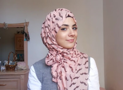 Jilbab Simpel Ikat Pita