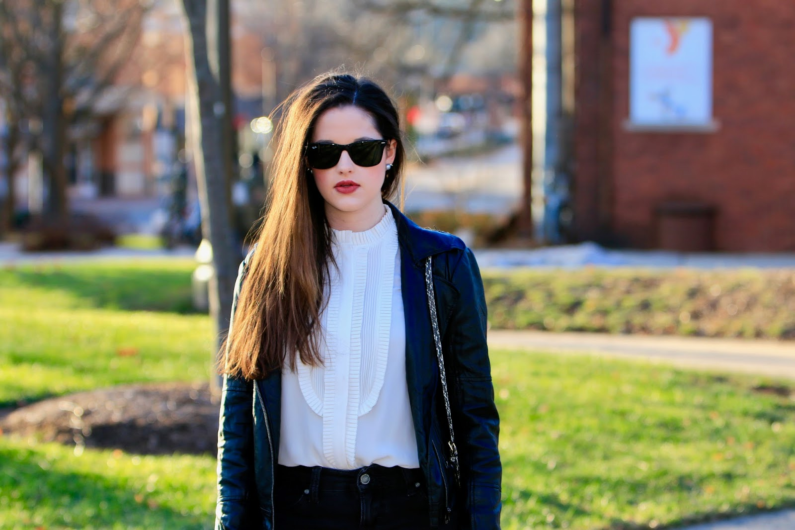 ray ban sunglasses fashion blogger