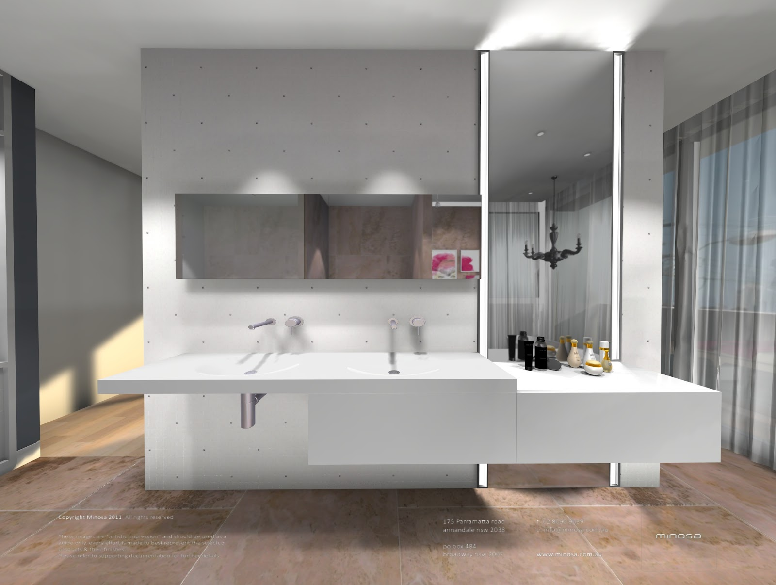 Minosa Modern Bathroom Products Focus On Design