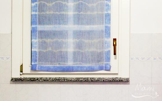 Tenda pacchetto tende della finestra del bagno, tende per la camera da letto. Valentina Scuteri Ozio Creativo E Fai Da Te Batik Fai Da Te Rinnovare Una Tenda