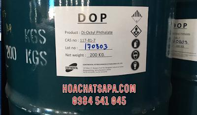 Di-Octyl Phthalate chất hóa dẻo dùng cho sản xuất ngành nhựa