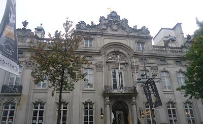 Royal Palace in Antwerp MeirBelgium