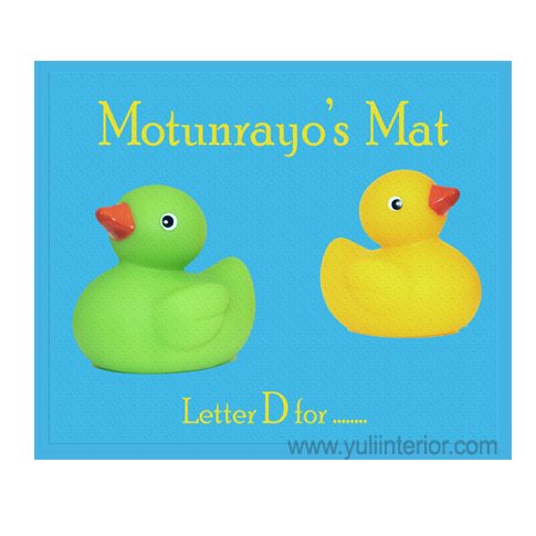 Personalised Ducks Kids Place Mats