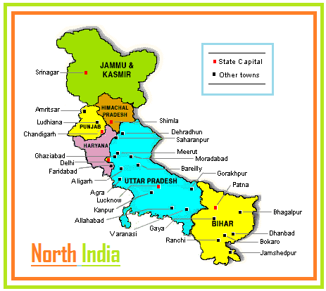 Nirmala Travels North India Tour Packages