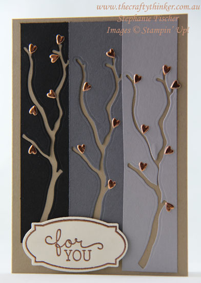 #thecraftythinker, #stampinup, #cardmaking, #masculinecard, masculine card, leftover die cuts, Seasonal Layers, Stampin' Up Australia Demonstrator, Stephanie Fischer, Sydney NSW