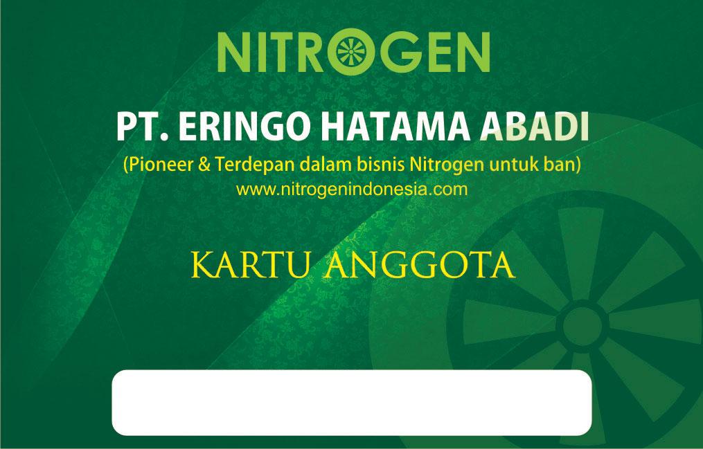 desain desain: Desain Kartu anggota Nitrogen