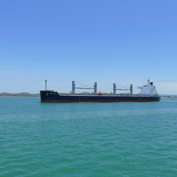 Frachtschiff Meer Gladstone Marina