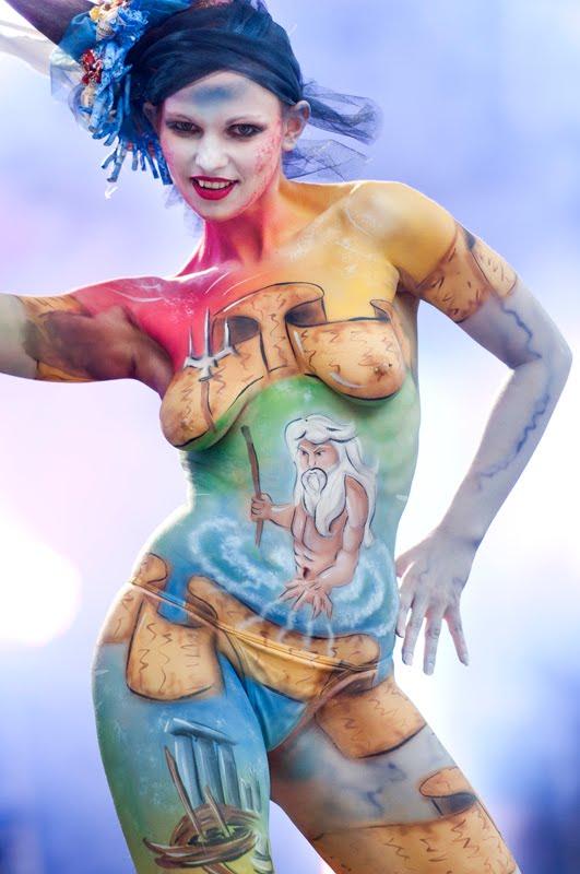 Art Body Painting Gallery Body Art Around The World