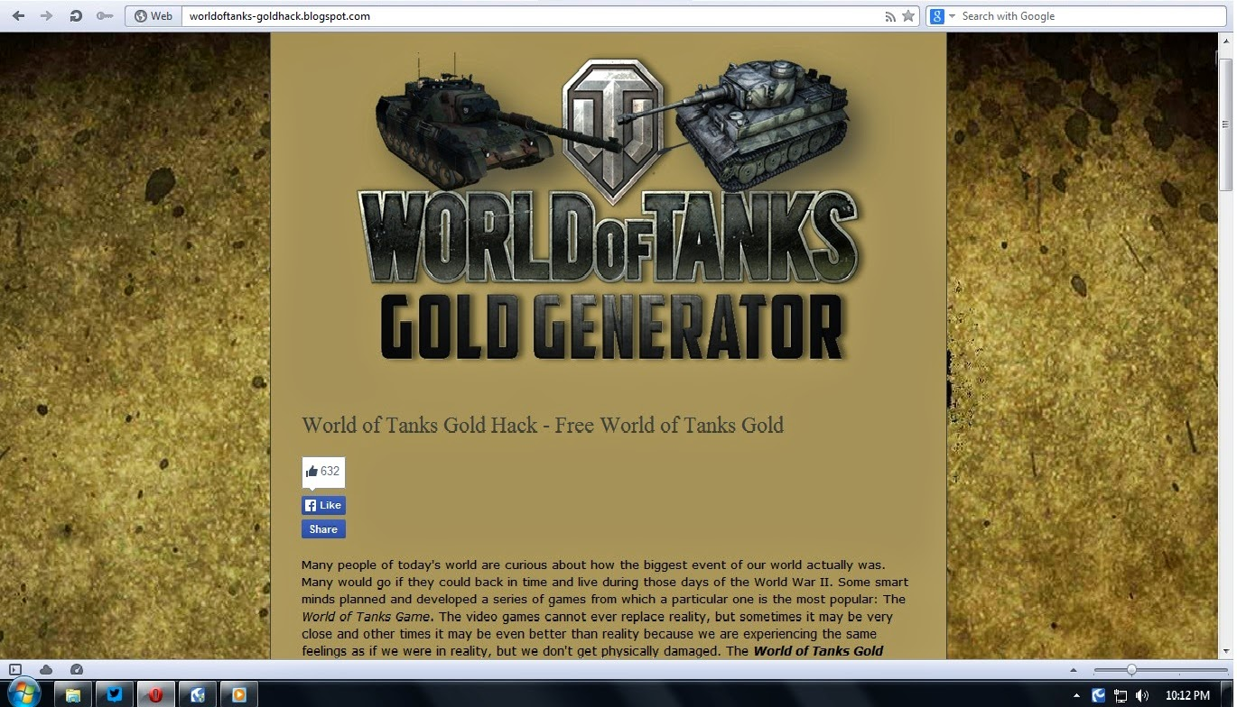 How to get gold in the World of Tanks and not become a victim of scammers