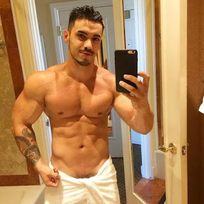 Hot Bodybuilder and Underwear Actor and Model Arad Winwin