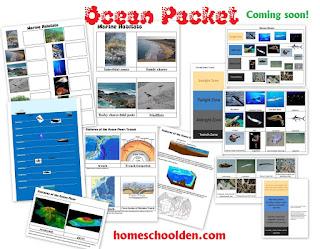 http://homeschoolden.com/2016/04/26/ocean-unit-packet-marine-habitats-currents-ocean-floor-ocean-life-and-more/
