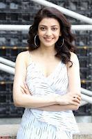 Kajal Aggarwal sizzles in Black Deep Neck Dress ~  Exclusive 004.jpg