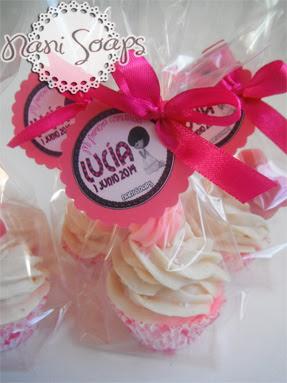 cupcake hecho a mano comunion