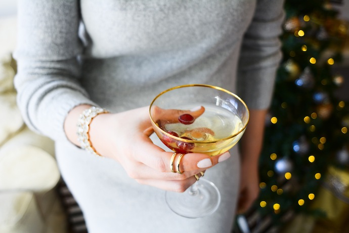 Le Chateau stacking rings vancouver blogger Holiday