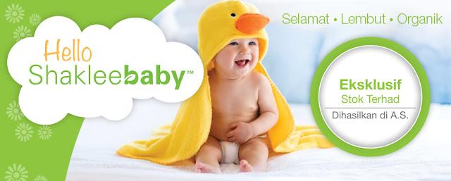 Set Shaklee Baby Bangi
