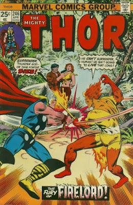 Thor #246, Firelord
