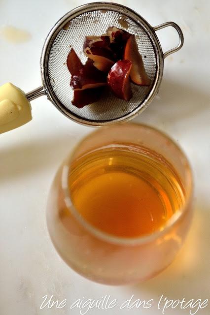 Infusion ou thé aux jujubes (chaud ou froid)