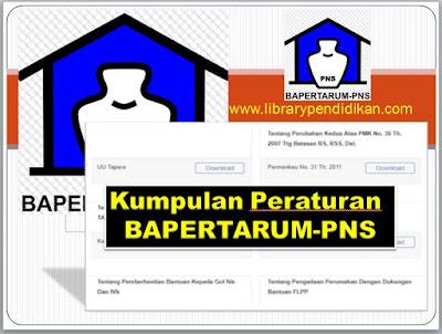 Download Gratis Kumpulan Peraturan Perundang-Undangan BAPERTARUM-PNS