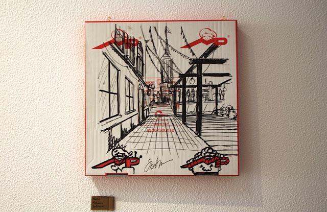 Galeria Municipal de São Brás de Alportel mostra caixas de pizza como nunca se viram antes