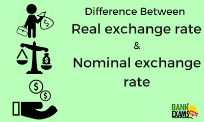 Difference Between Real Exchange Rate Nominal Bankexamstoday