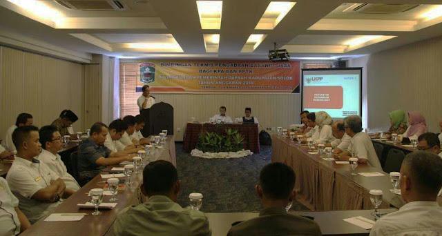 Hindari Jeratan Hukum, Sekdakab Solok: KPA dan PPTK Harus Tingkatkan Kapabilitas dan Integritas
