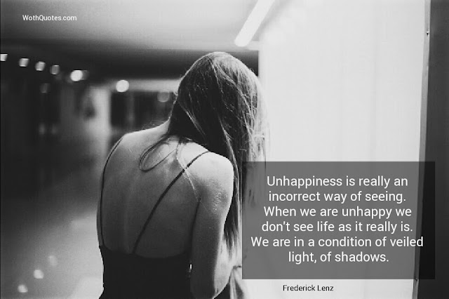 Unhappiness Quotes and Sayings