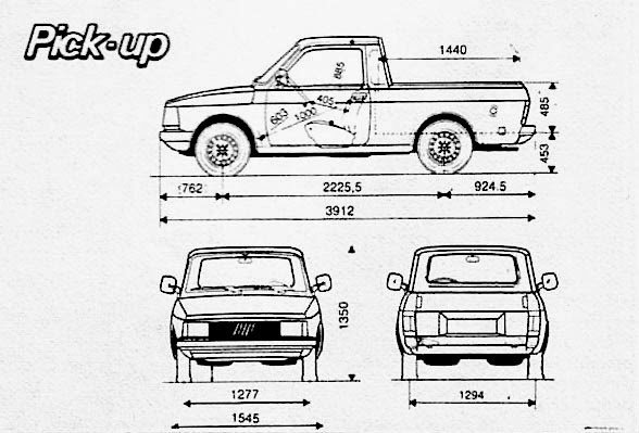 Archivo de autos: Fiat Fiorino Pick-up 1989