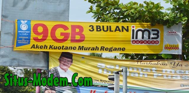 Inilah Harga Paket Internet 4G Indosat Ooredoo Kuota 9 GB Masa Aktif 3 Bulan