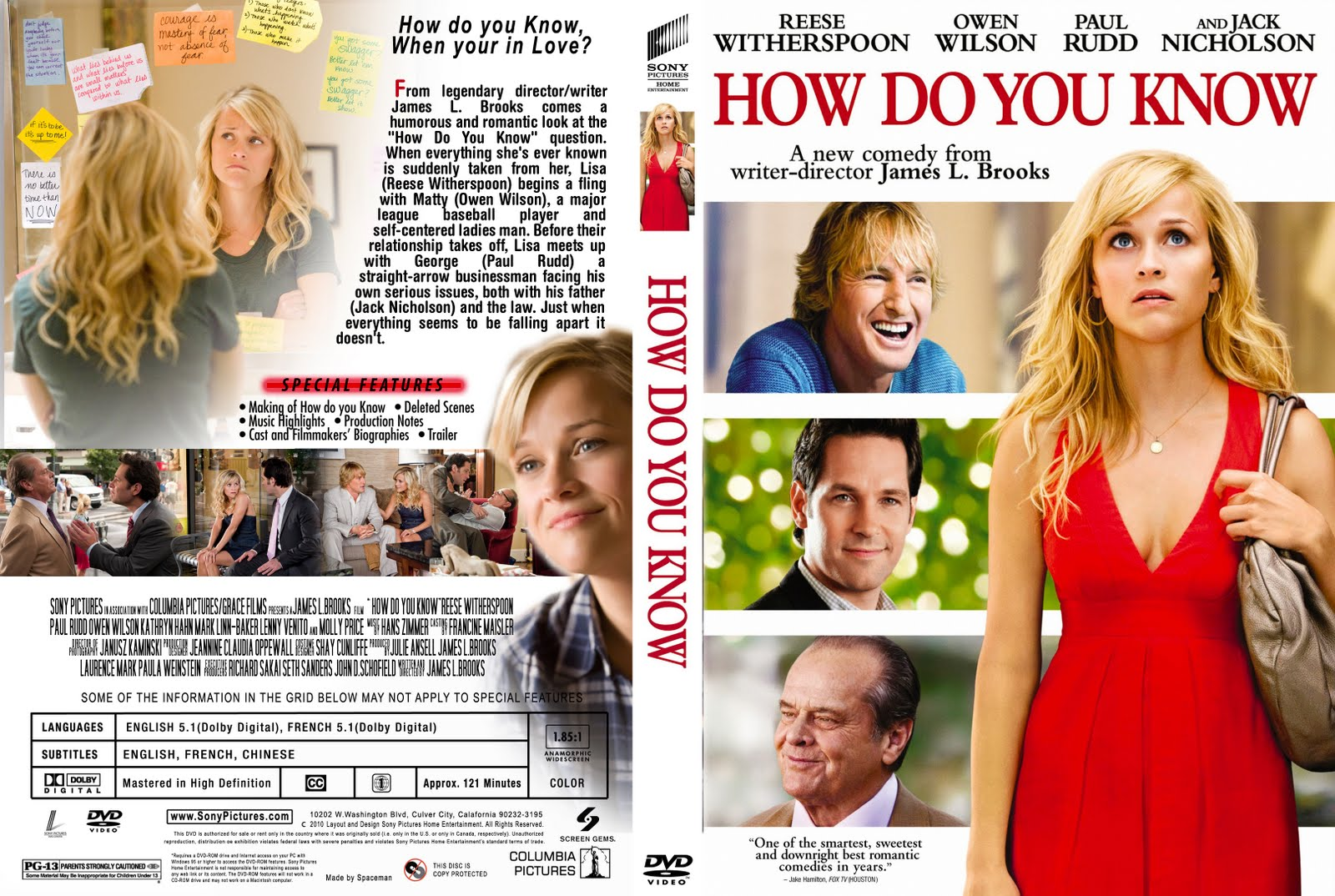Dvd Covers Free: How do you know - photo#5