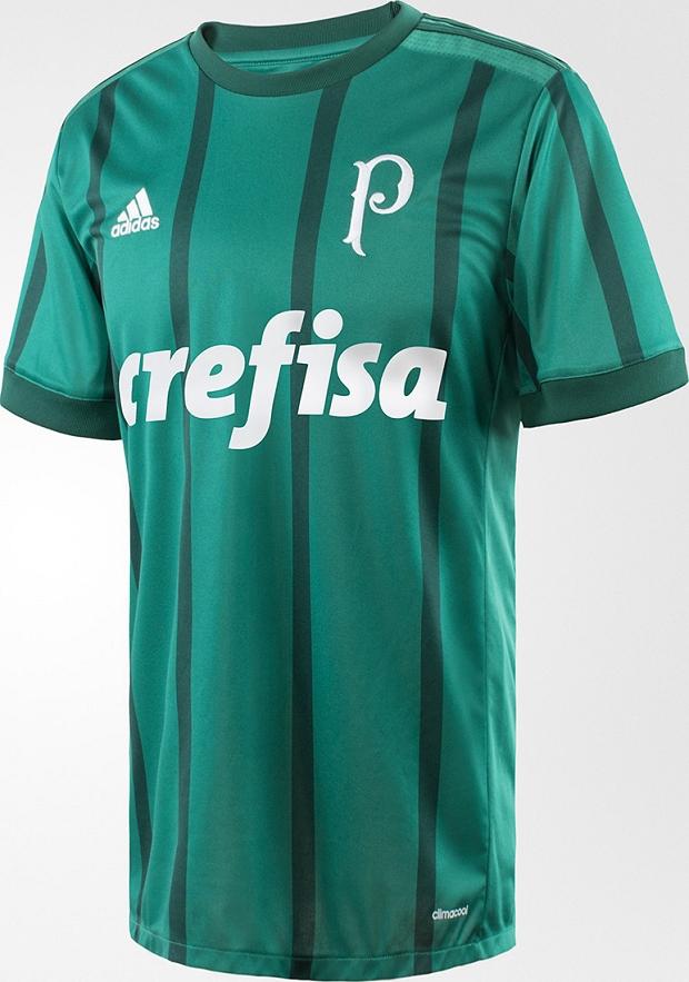 fdbbb8904e Adidas divulga a nova camisa camisa titular do Palmeiras - Show de ...