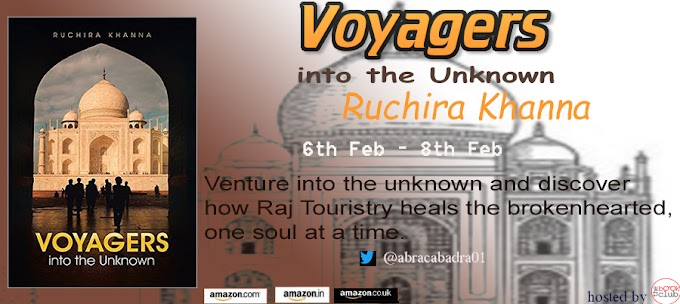 Book Blitz : Voyagers Into the Unknown by Ruchira Khanna