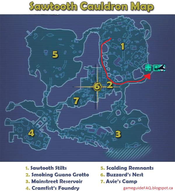 GameGuideFAQ: Borderlands 2 - Stuck in Sawtooth Cauldron