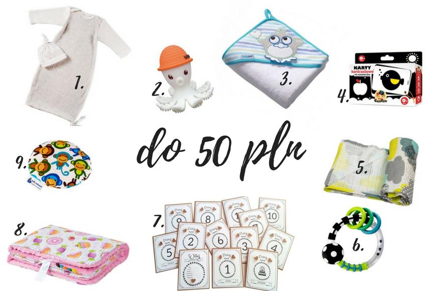 Jaki prezent dla niemowlaka do 50 zł, prezent dla noworodka do 30 pln prezent dla noworodka do 50 zl