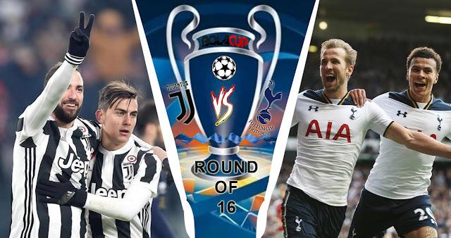 Prediksi Juventus vs Tottenham Hotspur Liga Champions
