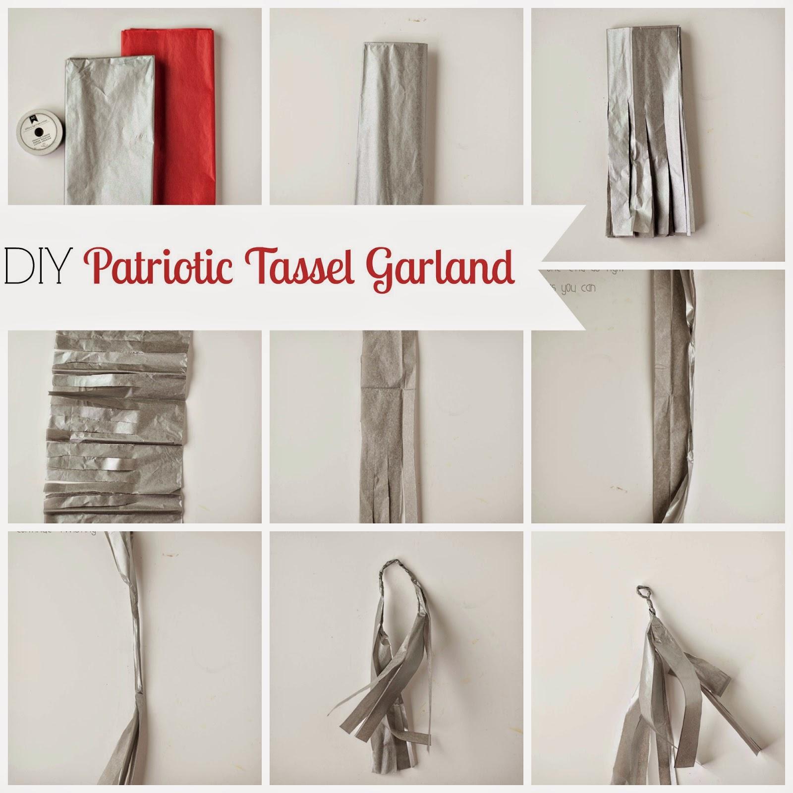 Carissa Miss: Patriotic Tassel Garland