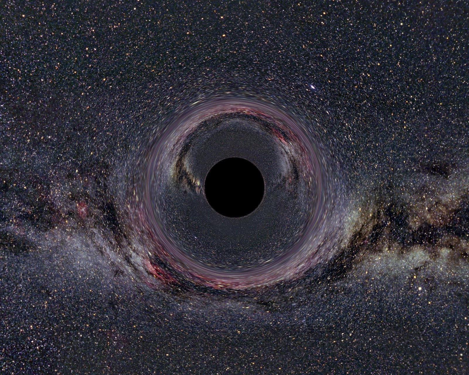 there is a black hole -#main