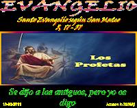 Resultado de imagen para EN aquel tiempo, dijo Jesús a sus discípulos: «No creáis que he venido a abolir la Ley y los Profetas