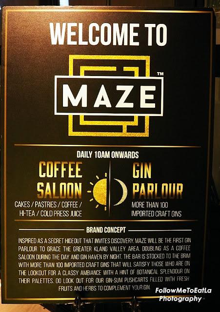 MAZE Gin Parlour & Coffee Saloon