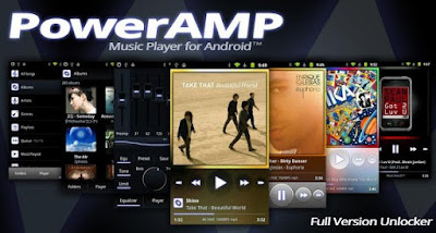 Poweramp Full Version Unlocker Apk free on Android