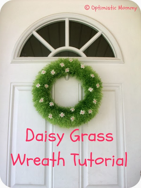 daily grass wreath tutorial