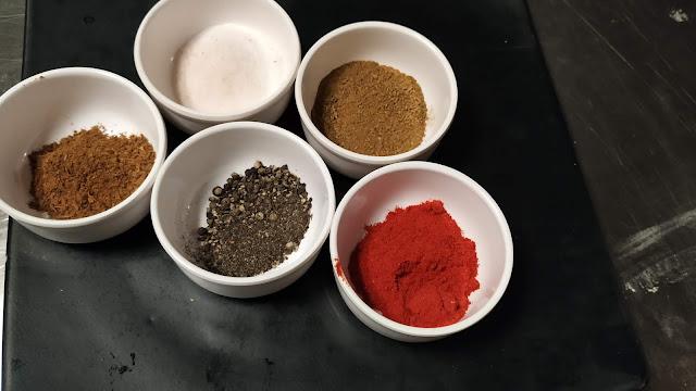 Salt pepper Chilly Cumin Garam masala Food Recipe