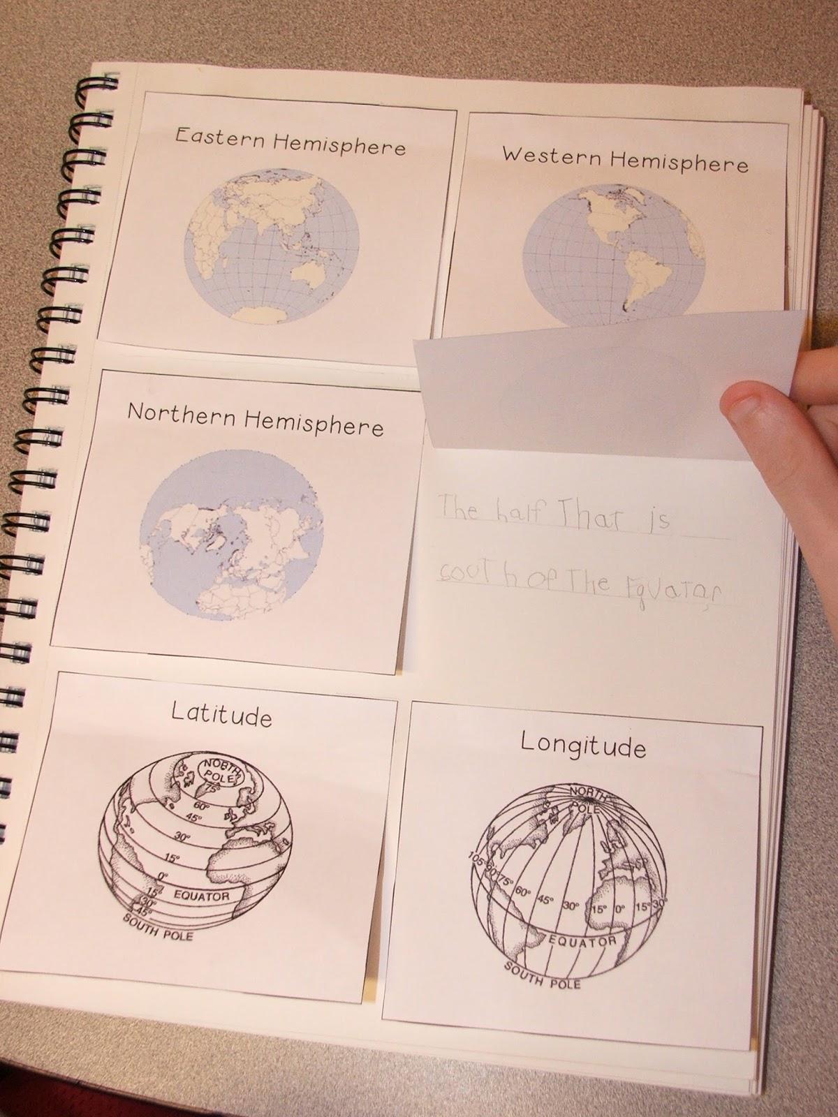 Highland Heritage Homeschool Interactive Geography Notebook