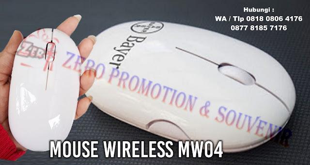 WIRELESS MOUSE - MW04, Barang Promosi Wireless Mouse MW04, Souvenir Wireless Mouse MW04, Mouse wireless bluetooth, jual aneka mouse wireless dengan harga terjangkau
