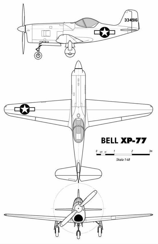 World War II History: Bell XP-77