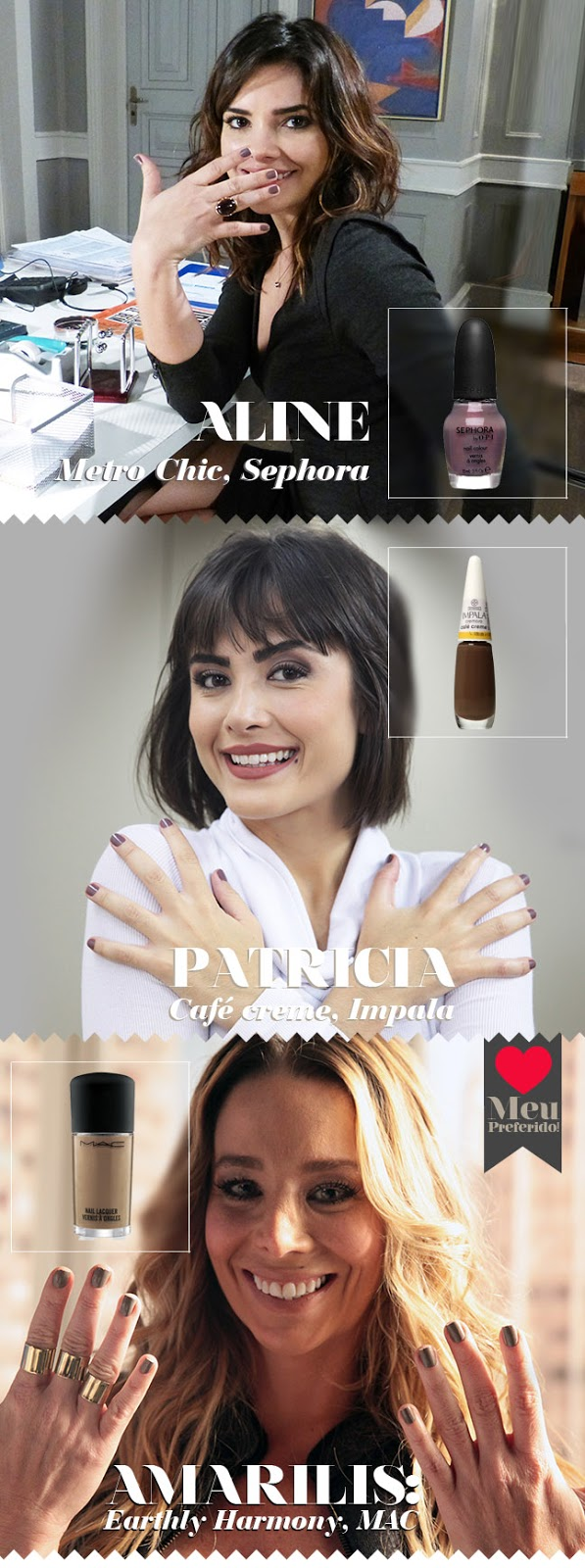 blog de moda brasilia Metro Chic Sephora by OPI  Earthly Harmony  MAC  café creme impala