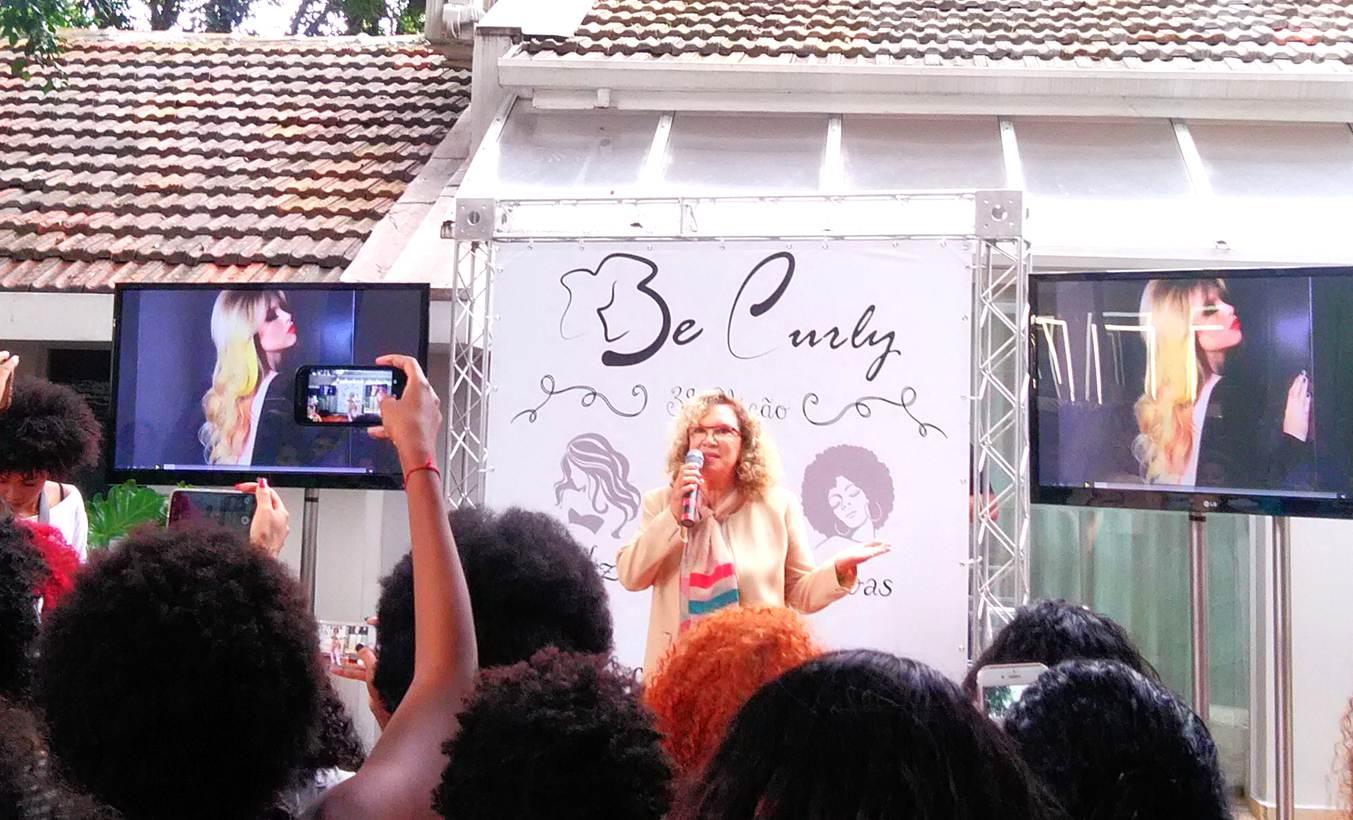 evento be curly 3ª edição